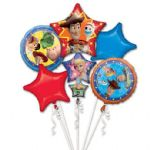 Toy Story 4 Helium Balloon Bouquet